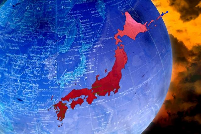 赤い日本列島