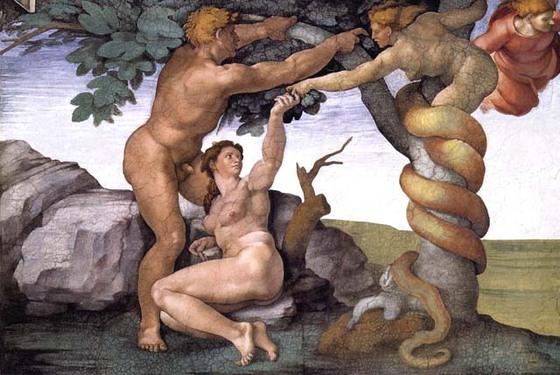 アダムとエバと蛇